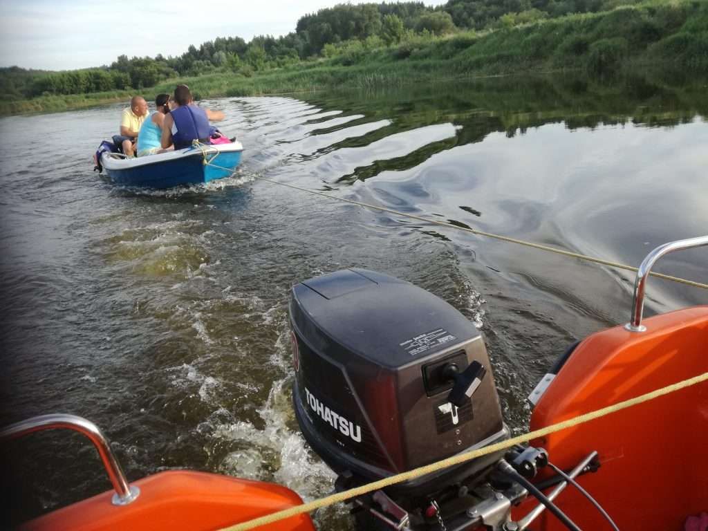 Znaleziona łódka
